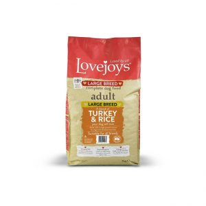 Lovejoys Adult Large Breed Turkey