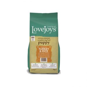 Lovejoys Puppy Turkey & Rice 12kg