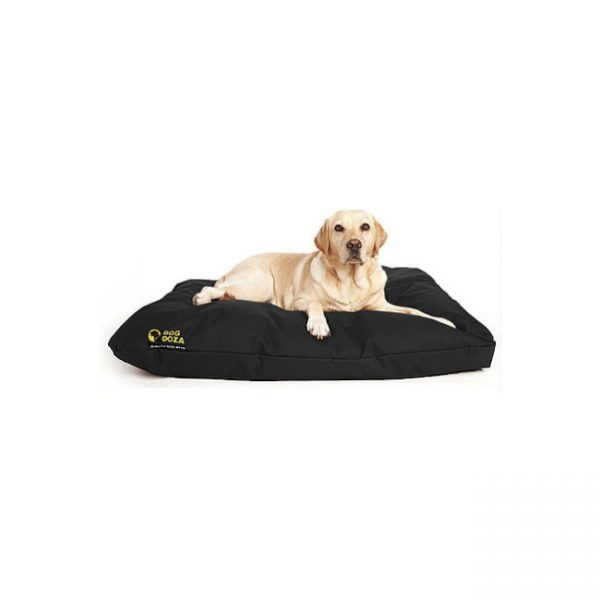 Dog Doza Waterproof Cushion Beds Black