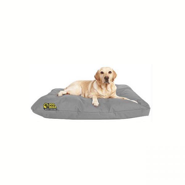 Dog Doza Waterproof Cushion Beds Grey