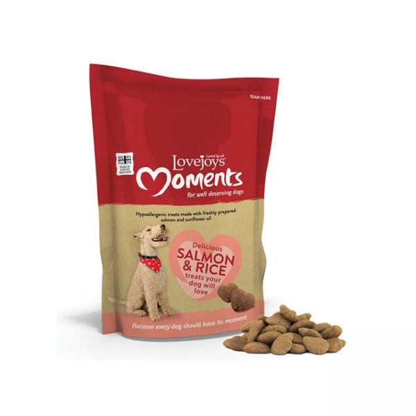 Lovejoys Moments Salmon & Rice Treats