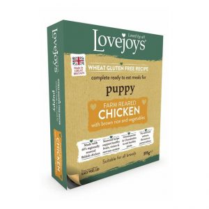 Lovejoys Puppy Chicken with Rice & Vegetables