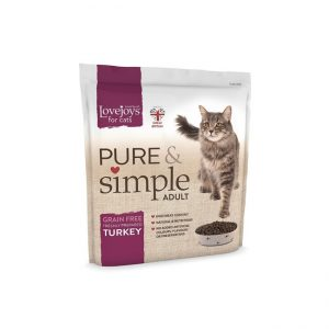 Lovejoys Pure & Simple Adult Cat Turkey