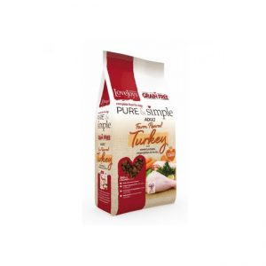 Lovejoys Pure & Simple Grain Free Farm Reared Turkey 12kg