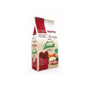 Lovejoys Pure & Simple Grain Free Grass Fed Lamb 12kg