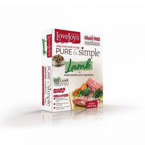 Lovejoys Pure & Simple Grain Free Lamb