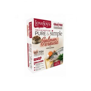 Lovejoys Pure & Simple Grain Free Salmon & White Fish