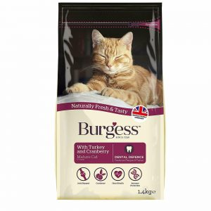 Mature Cat With Turkey & Cranberry (1.4kg)