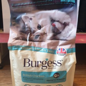Burgess Kitten Chicken (1.5kg)
