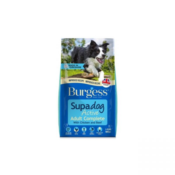 Burgess Active Dog Chicken & Beef (15kg)