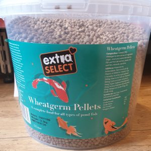 Extra Select Wheatgerm Pond Pellets Bucket (5ltr)