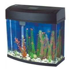Fish R Fun Panoramic Aquarium Black 12Ltr
