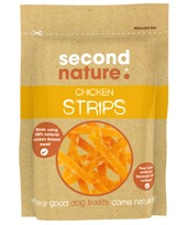 SECOND NATURE CHICKEN STRIPS 90G