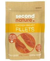 SECOND NATURE CHICKEN BREAST FILLETS 100G