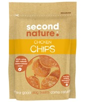 SECOND NATURE CHICKEN CHIPS 100G