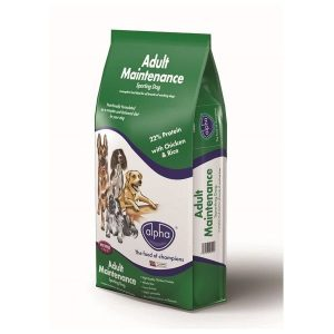 Alpha Adult Sporting Maintenance with Chicken & Rice 15kg