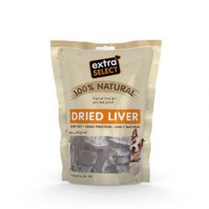 EXTRA SELECT 100% NATURAL DRIED LIVER 100G