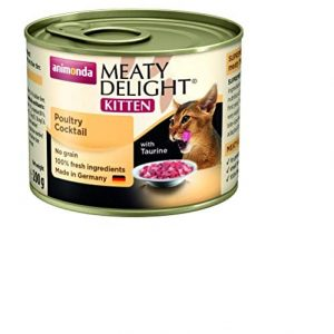Animonda Kitten Meaty Delight Tin Poultry Cocktail ( 6 x 200g)