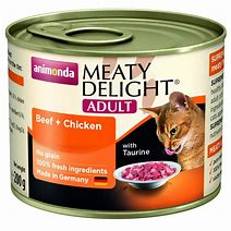 Animonda Adult Cat Meaty Delight Tin Beef & Chicken (6 x 200g)