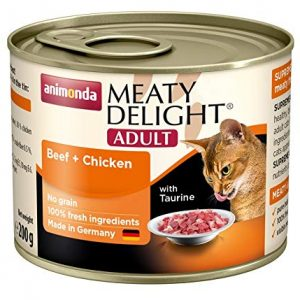 Animonda Senior Cat Meaty Delight Tin Beef, Chicken with Cheese ( 6 x 200g)
