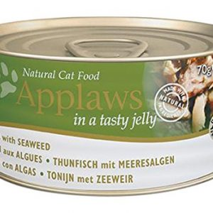 Applaws Tuna & Seaweed in Jelly ( 24 x 70g)