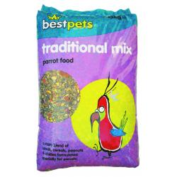 Bestpets Traditional Parrot Mix, 15KG