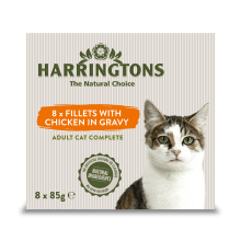 Harringtons Cat Chicken Multipack 8pk, 85G