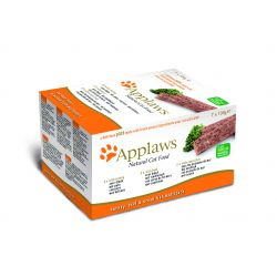 Applaws Cat Pate Turkey/Beef/Ocean Fish 7 pack, 100G