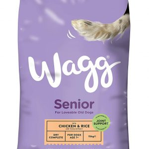 Wagg Complete Senior with Chicken & Rice and yucca extract
