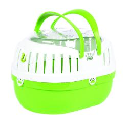 Happy Pet Small Animal Carrier Green, 26CM