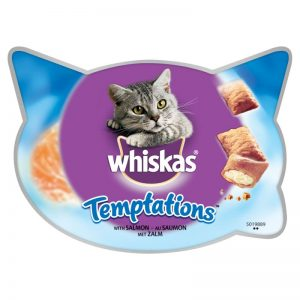 Whiskas Temptations Cat Treats 60g