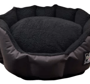 Snuggle Basket Bed – Sherpa Fleece