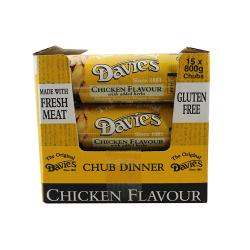 Davies Chubs Chicken, 15 x 800g