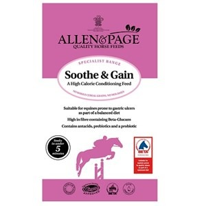 Allen & Page Soothe & Gain 15kg