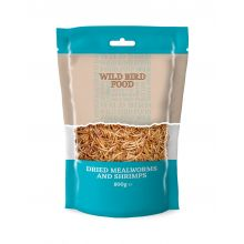 Basics Dried Mealworms and Shrimps, 80g
