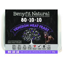 Benyfit Natural 80.10.10 Vension Meat Feast, 500G