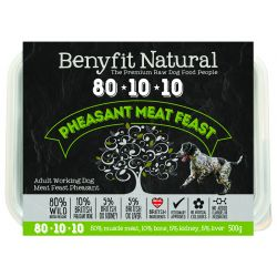 Benyfit Natural 80.10.10 Pheasant Meat Feast, 500G