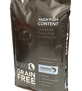 High Meat & Grain Free – Herring & Sweet Potato for Puppies 8kg