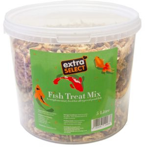 Extra Select Fish Treat Mix Bucket