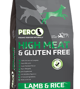 High Meat & Gluten Free – Lamb & Rice