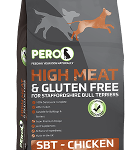 High Meat & Gluten Free for Staffordshire Bull Terriers – Chicken