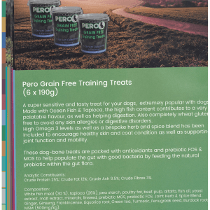 Grain Free Training Treats – Ocean Fish & Tapioca 190Gms