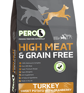High Meat & Grain Free – Turkey & Sweet Potato with Cranberry
