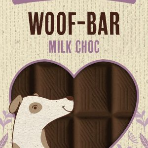 Woof Choc Bar 100g