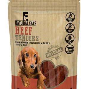 Beef Tender Strips Dog Treats 80g