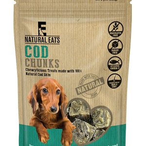 Cod Chunks Dog Treats 80g