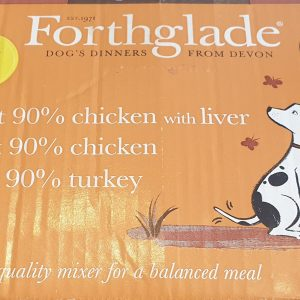 Forthglade Just Grain Free Poultry Mix 12 pack – PUPPY