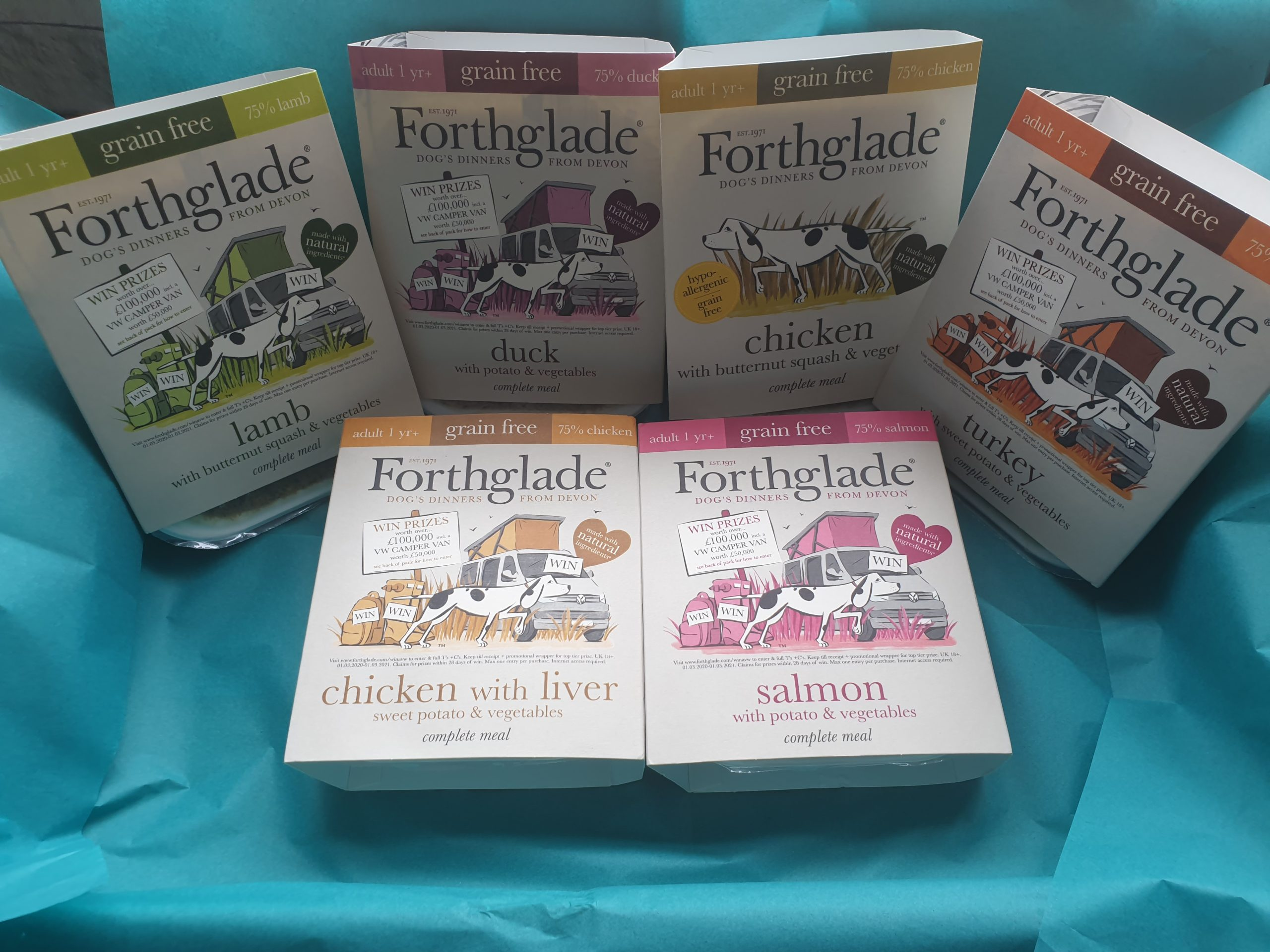 FORTHGLADE WET FOOD