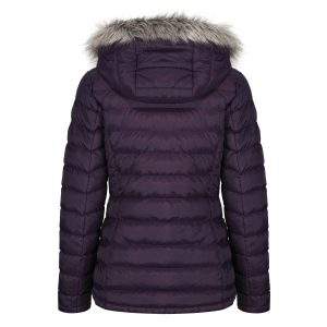 ASHRIDGE QUILTED JACKET – mulberry