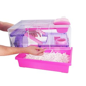 Pico Hamster Cage – Pink